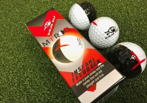 Eyeline Golf 2-Color Putting Ball 3-Pack