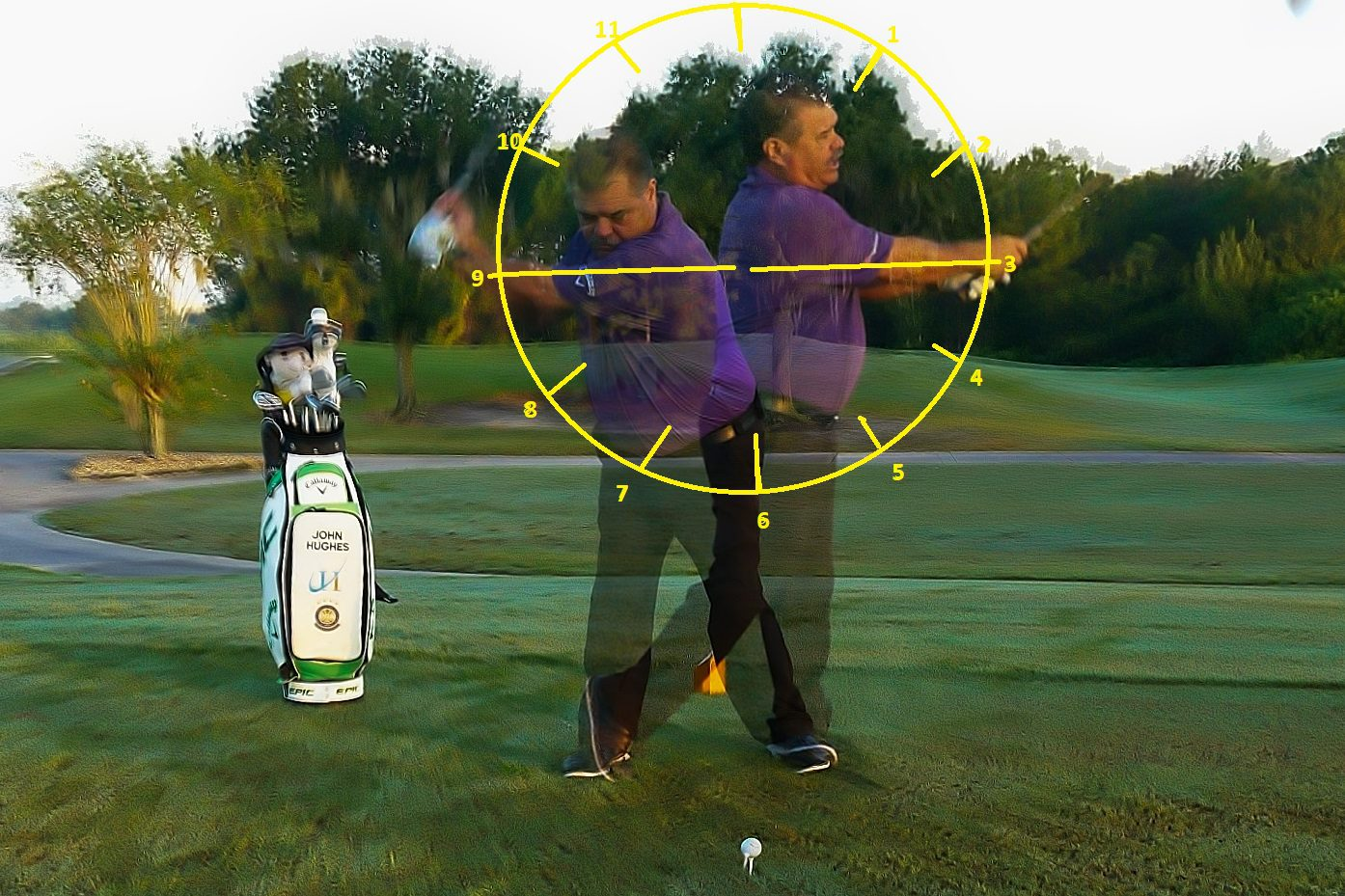 9 to 3 Drill, Impact Position, John Hughes Golf, Golf Schools in Florida, Florida Golf Schools, Orlando Golf Schools, Golf Schools in Orlando