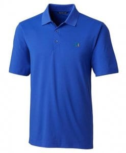 Logoed Cutter and Buck DryTec Willows Polo