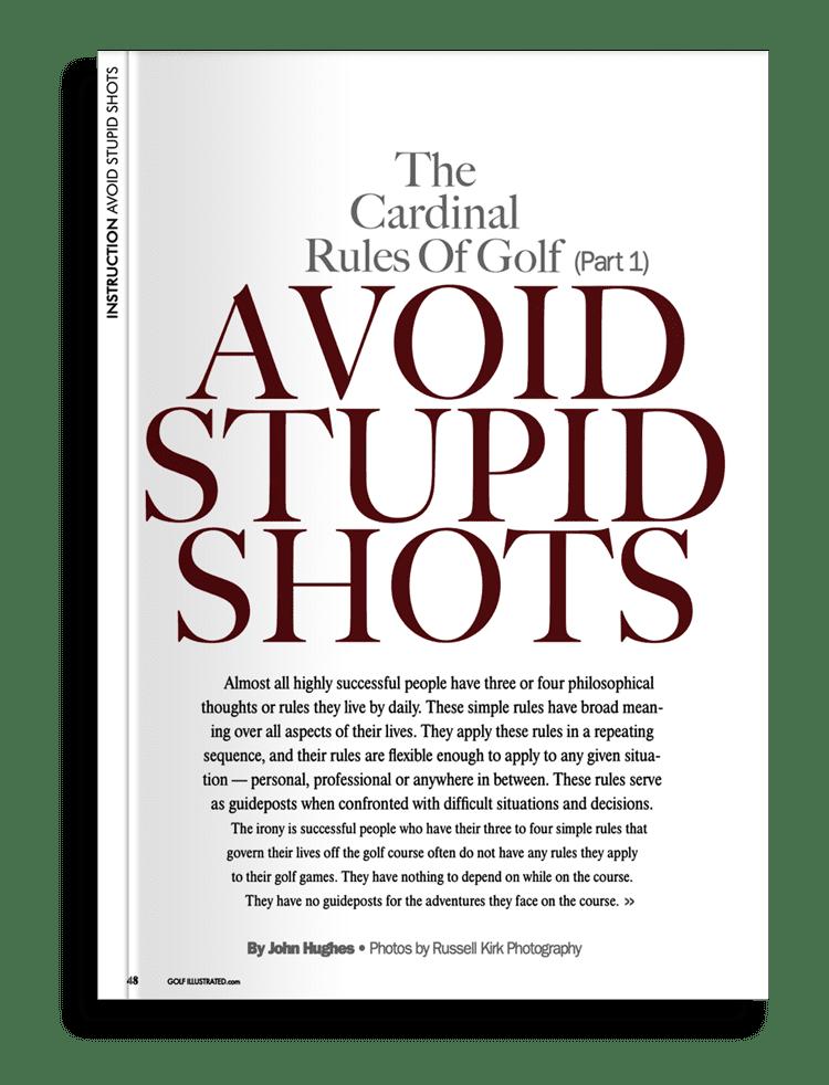 Avoiding Stupid Mistakes